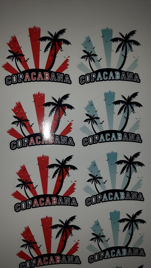 Copacabana Aufkleber