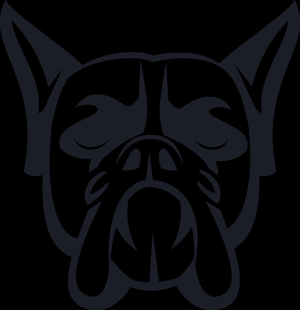Boxer Hundekopf