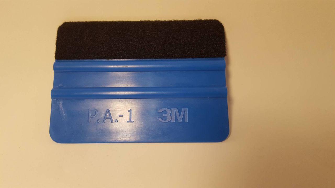 3M Rakel Blau mit Filzkante