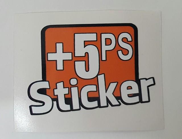 +5PS Sticker