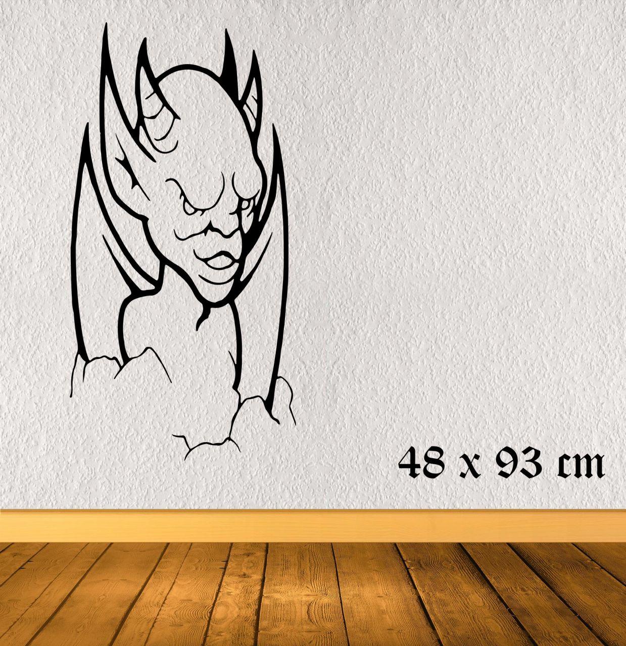 Dämonischer Teufel rechts