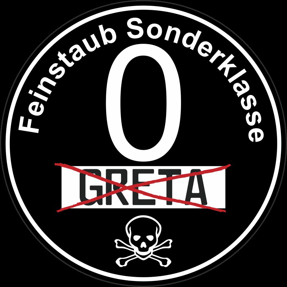 Greta Euro 0 Plakette