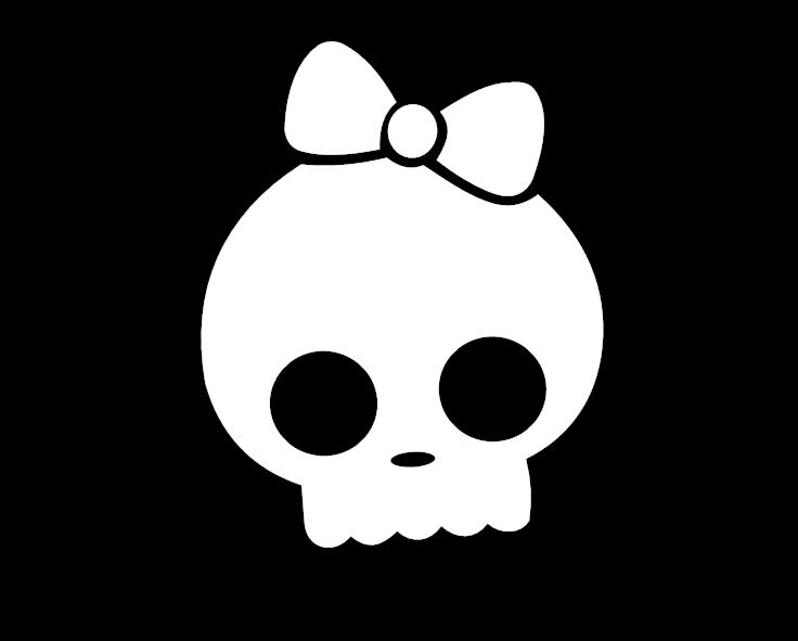 Schraubenschlüssel mit Totenkopf