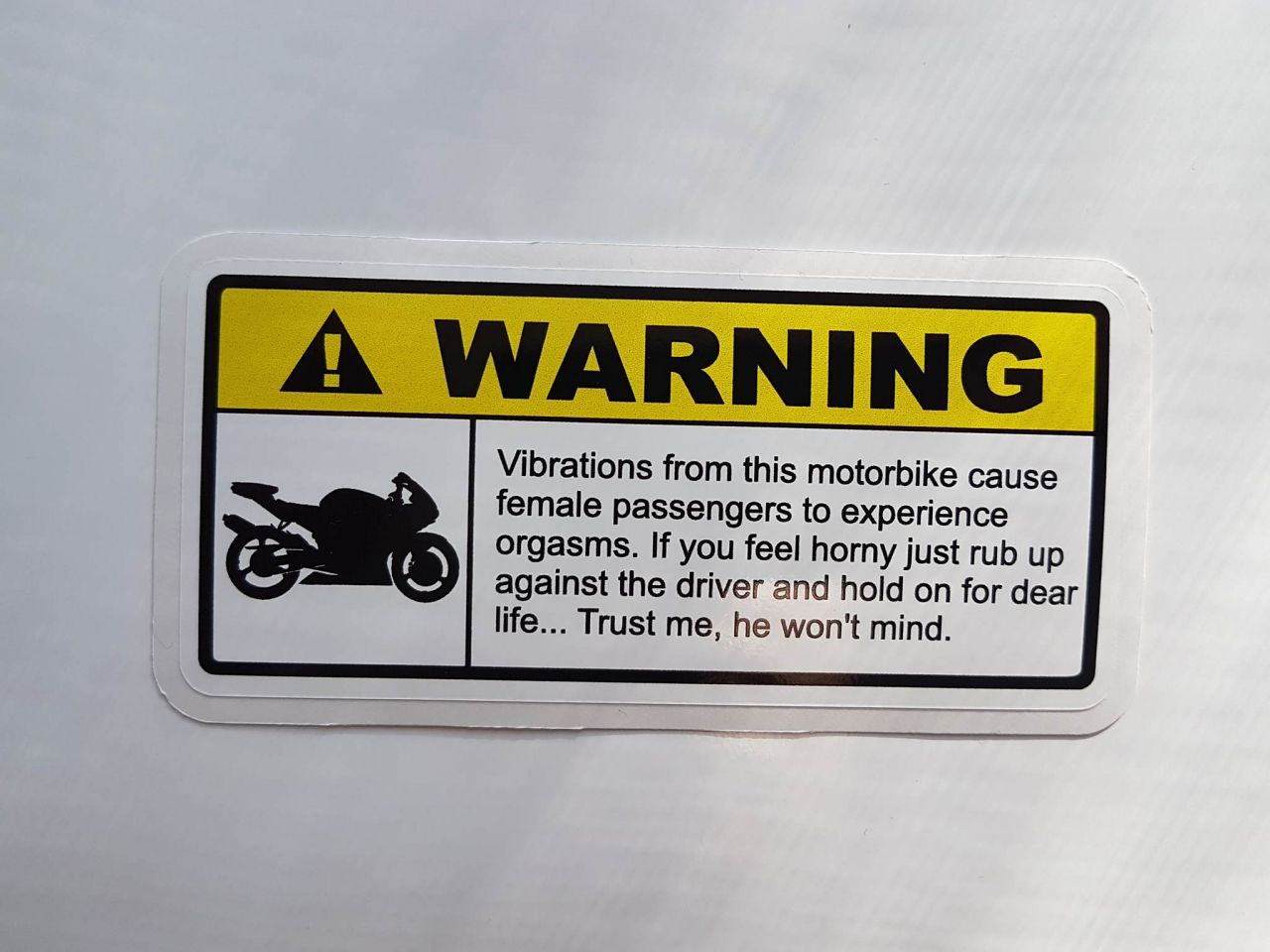 Warning....Vibrationen