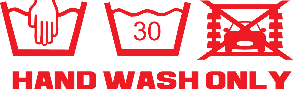 Hand Wash Only!